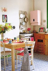 cute kitchen (lorryx3) Tags: inspiration cute kitchen vintage scan bazaarstyle