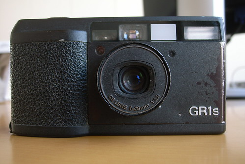 Ricoh GR1s power on