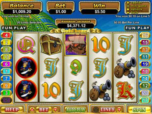 goldbeard slot game online review