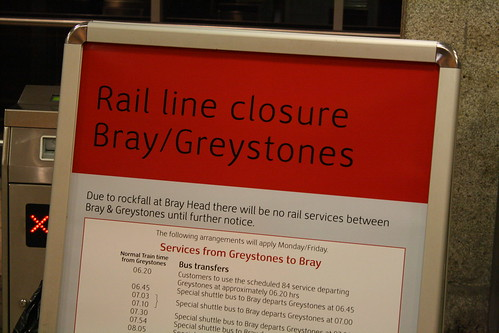 Irish Rail Line Closure