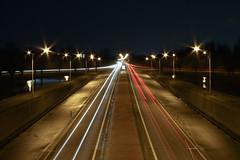 Long Exposure, Oosterhout (Carlo Vingerling) Tags: holland cars lights exposure nightshot nacht viaduct noordbrabant oosterhout canoneos450d