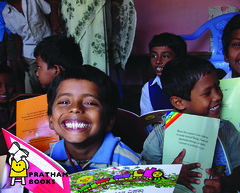 """Vision :""""A Book in Every Child's Hand"""" (Pratham Books) Tags: india children reading books learning stories publishing literacy childrensbooks indianlanguages indianpublisher indianpublishing"""