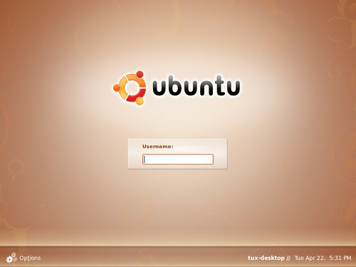 Ubuntu_8.04_login_screen
