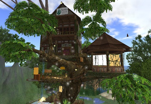 Eco Commons in Second Life