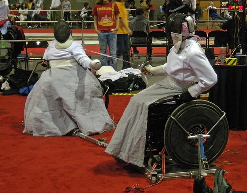 Wheelchair fencers 3, NAC Atlanta