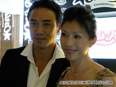 Allan Wu and Wong Lilin