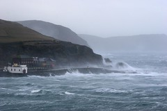 Port Erin Storm Jan 2007 (ronstrathdee) Tags: storm waves windy spray coastal isleofman porterin theresastormabrewing wavesbreaking therebeastormabrewin isleofmanstormy