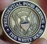 Presidential Food Service Coin Closeup