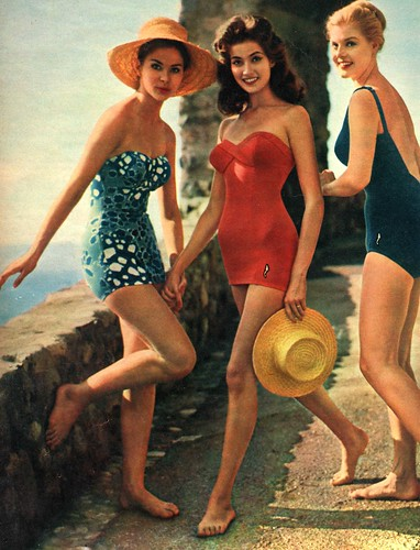 1950's Bathing Beauties by Shannon D1970.
