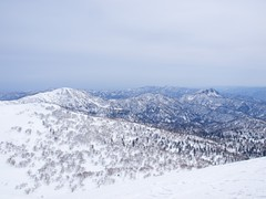 白井岳と定山渓天狗岳