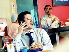 """Hapiness of Simple Things"" (Sion Fullana) Tags: barcelona portrait españa sexy lumix salad spain retrato streetphotography cellphone coke cocacola aeropuerto allrightsreserved ensalada onthephone espanya beautifulsmile barcelonaairport urbanshots aeroportdelprat airportseries panasonicdmcfz50 chicoguapo eatingasandwich sionfullana sionfullanasphotography ©sionfullana hablandoporelmóvil preciosasonrisa guysmiling comiendounsandwich beuatifulguy chicosonriendo"