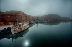 April Snapshot III (u n c o m m o n) Tags: mist hdr lysekil uncommon photomatix tonemapped april09 marcusclaesson