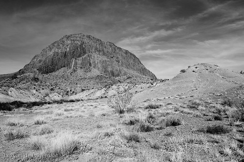 Columnar mountain near Big Bend