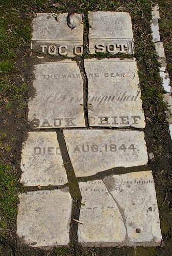 Chief Joc-O-Sot gravestone