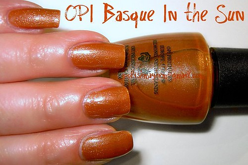OPI Basque In the Sun