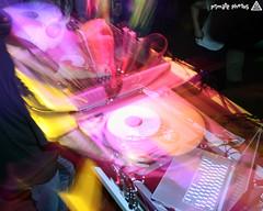 IMG_9981 Edit (Dan Correia) Tags: 15fav photoshop macintosh dj laptop mixer katherine nightclub turntables noiseninja canonef1740mmf4lusm 580ex drumnbass zoomburst seratoscratch asides macbookpro