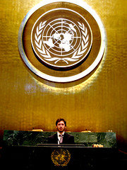 Momenti di gloria!!!!!! (Giorgio Santacroce) Tags: world new york newyork ga peace united un unitednations pace nations generalassembly mun