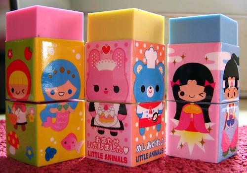 cute erasers 2