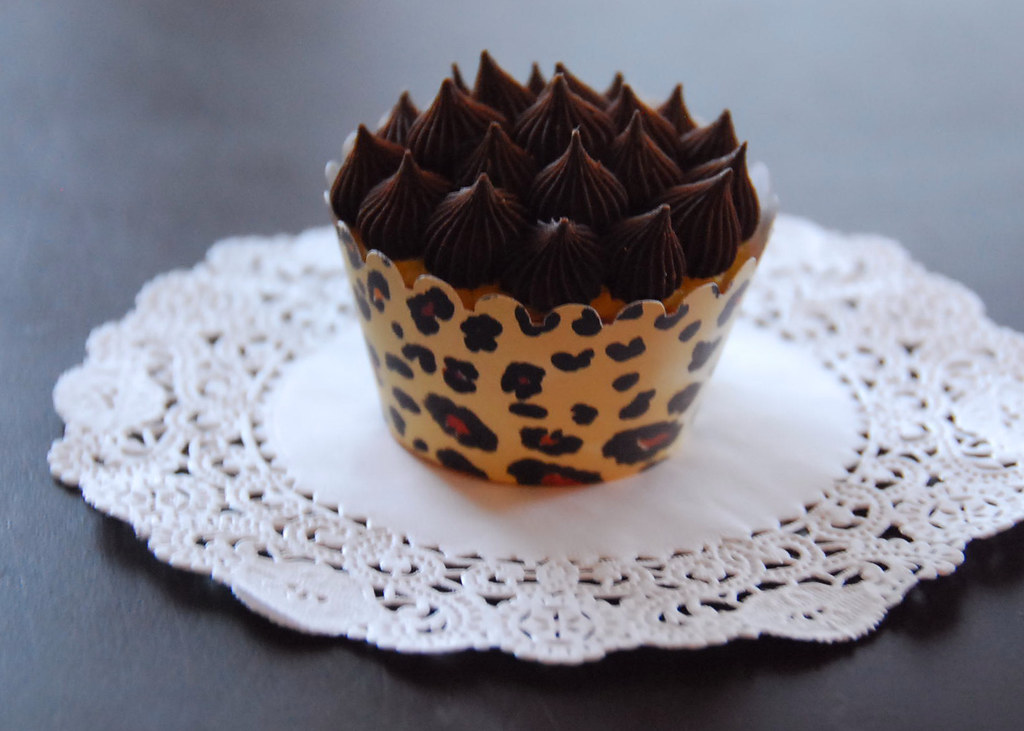 cupcakes pinterest leopards - photo #21