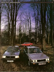 Sports Saloons Group Test Renault 18 Turbo, Audi 80 Sport & BMW 318i 1984 1 (Trigger's Retro Road Tests!) Tags: test sports car sport magazine group renault turbo 1984 bmw what 18 audi 80 318i saloons