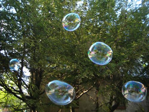 Sending bubbles