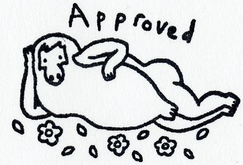 Pendleton Ward aproval stamp