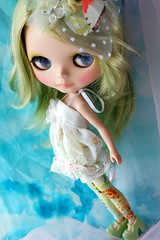 Custom Blythe~Mint Garden2