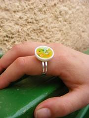 Vegetable Soup Ring (Shay Aaron) Tags: food soup miniature fake mini jewelry vegetable noodle geekery טבעת מרק ירקות shayaaron שיאהרון תכשיטיאוכל