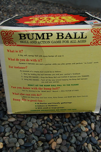 "Milton Bradley ""Bump Ball"""