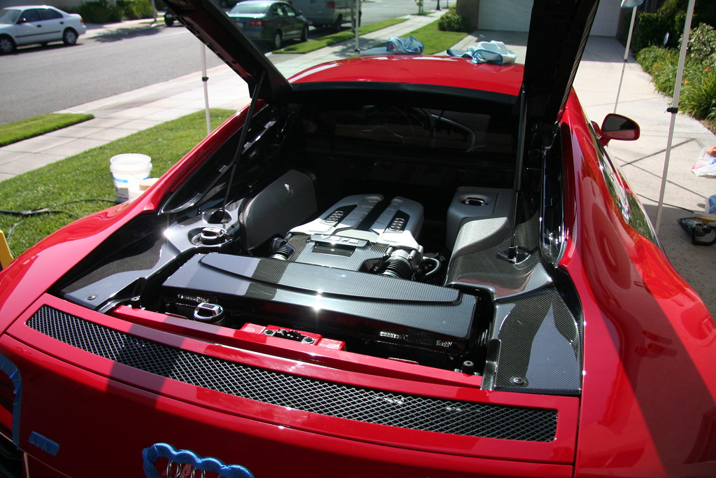 Thread Concours Finish Detailed Audi R8 Thread: Concours Finish Detailed: Audi R8 in Brilliant Red