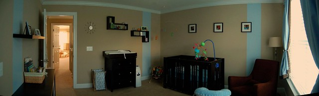 boy autostitch panorama baby diy room nursery