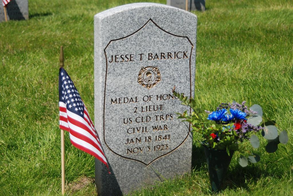Jesse T Barrick 2nd Lieutenant - MOH Civil War