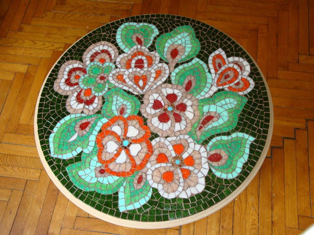 Mosaic coffee table 1 WIP8