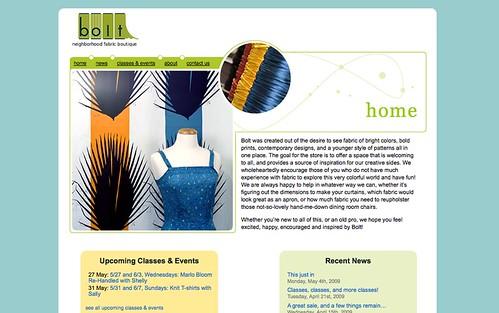 Bolt website
