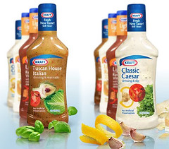 bottled salad dressings