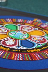 Sand Mandala from the Free Tibet Day by spikeheap