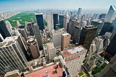 New York 09 (John Erik) Tags: park city usa ny newyork skyline architecture nikon view skyscrapers manhattan central rockefellercenter midtown uptown bigapple topoftherock d300 nikon1024mm