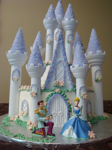 Perfect Cinderella Castle Cakes