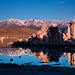 Tufa Shadow Reflection