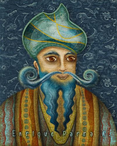El mago de las barbas azules