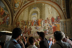 Raphael's School of Athens, Rome