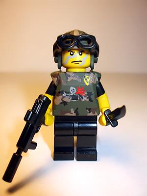 ZH Stealth Kill custom minifig