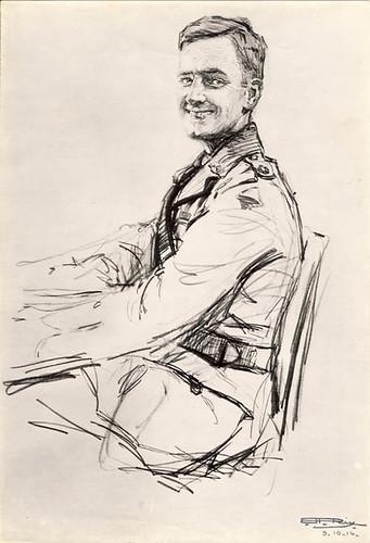 George Nicholas by Hilda Rix