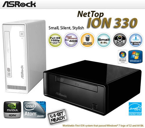ASRock ION 330 BD Nettop
