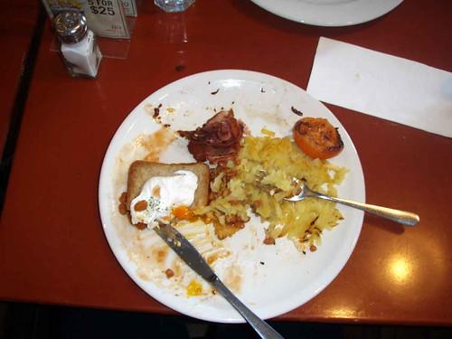 Half a Cowboy Breakfast