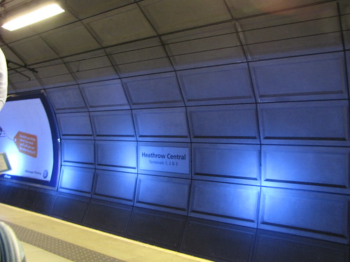 Heathrow Central train station