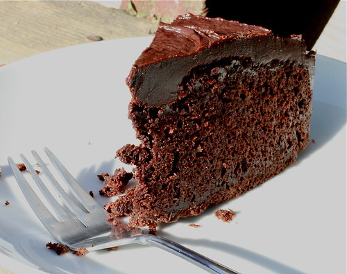 giant chocolate cake