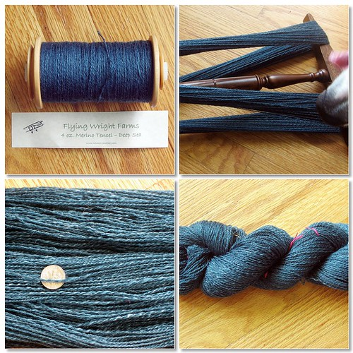 Deep Sea fingering weight 2-ply