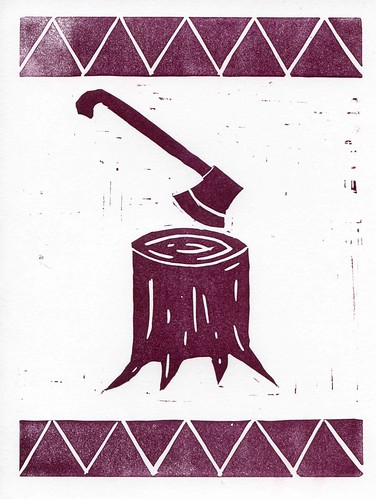 scans of lino prints
