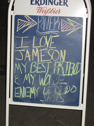 I Love Jameson by you.